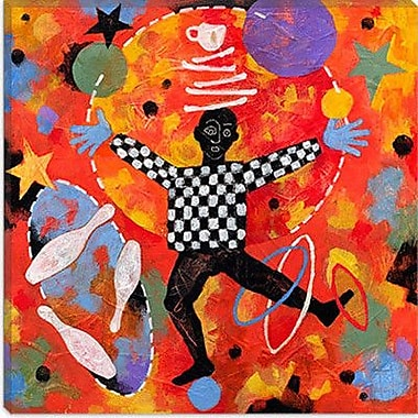 iCanvas ''Juggler'' by Jim Dryden Painting Print on Canvas; 12'' H x 12'' W x 1.5'' D