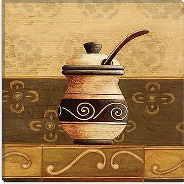 iCanvas ''Coffee Pot'' by Pablo Esteban Painting Print on Canvas; 18'' H x 18'' W x 1.5'' D