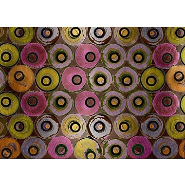 Carlyle Fine Art Abstract Liquid Life No.4 by Jordan Carlyle Graphic Art; 54'' x 72''