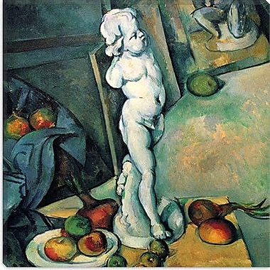 iCanvas ''Still Life w/ Cherub'' by Paul Cezanne Painting Print on Wrapped Canvas