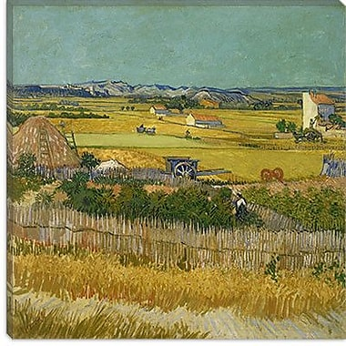 iCanvas ''The Harvest'' Canvas Wall Art by Vincent Van Gogh; 12'' H x 12'' W x 1.5'' D