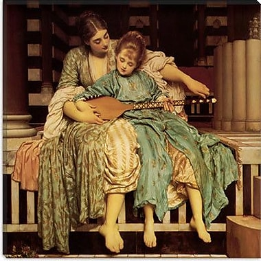 iCanvas ''The Music Lesson'' by Frederick Leighton Painting Print on Wrapped Canvas