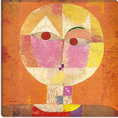 iCanvas Senecio' by Paul Klee Painting Print on Painting Wrapped Canvas; 12'' H x 12'' W x 1.5'' D