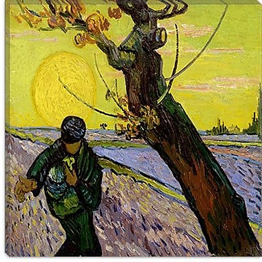 iCanvas ''The Sower'' Canvas Wall Art by Vincent Van Gogh; 37'' H x 37'' W x 0.75'' D