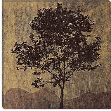 iCanvas ''Tree'' by Erin Clark Painting Print on Wrapped Canvas; 26'' H x 26'' W x 0.75'' D