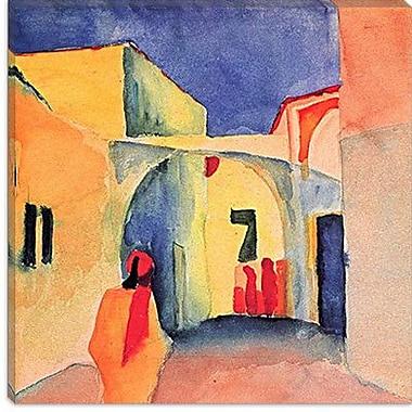 iCanvas ''A Glance Down an Alley'' Canvas Wall Art by August Macke; 12'' H x 12'' W x 0.75'' D