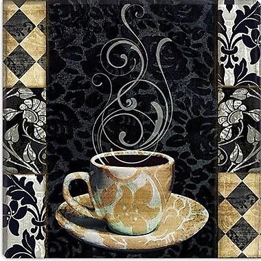 iCanvas Cafe Noir II Graphic Art on Canvas; 18'' H x 18'' W x 0.75'' D