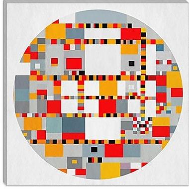 iCanvas Modern View Through a Kaleidoscope ll Graphic Art on Canvas; 26'' H x 26'' W x 0.75'' D