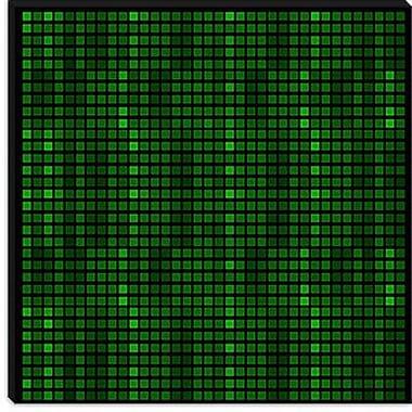 iCanvas Modern Tile Code Graphic Art on Canvas; 18'' H x 18'' W x 0.75'' D