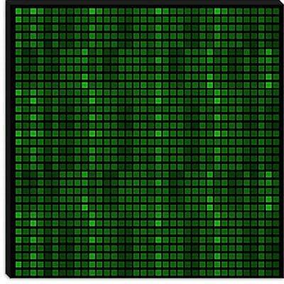 iCanvas Modern Tile Code Graphic Art on Canvas; 37'' H x 37'' W x 0.75'' D