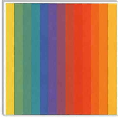 iCanvas Modern cPride Pattern Modern Graphic Art on Canvas; 26'' H x 26'' W x 0.75'' D