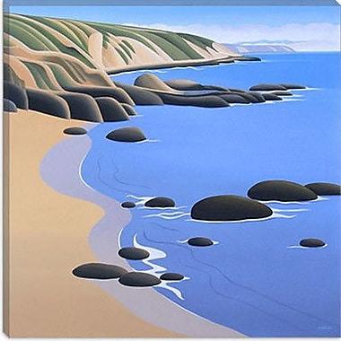 iCanvas ''Ochre Bluffs'' by Ron Parker Graphic Art on Canvas; 12'' H x 12'' W x 0.75'' D
