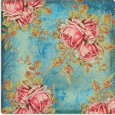 iCanvas Color Bakery ''Roses Antoinette'' Graphic Art on Canvas; 26'' H x 26'' W x 1.5'' D