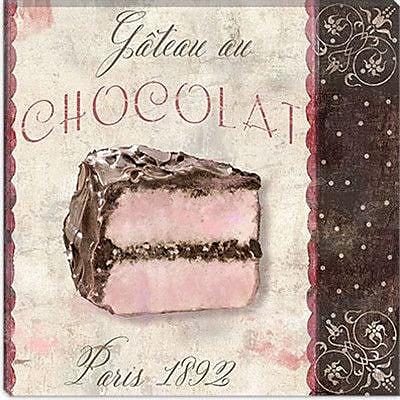 iCanvas Color Bakery Patisserie XI Vintage Advertisement on Canvas; 37'' H x 37'' W x 0.75'' D
