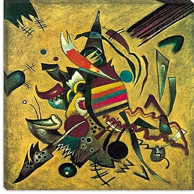 iCanvas ''Points'' by Wassily Kandinsky Graphic Art on Canvas; 12'' H x 12'' W x 1.5'' D