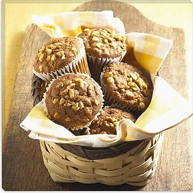 iCanvas Food and Cuisine Muffin Basket Photographic Print on Canvas; 37'' H x 37'' W x 1.5'' D