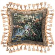 Fine Art Tapestries Summer Lily Throw Pillow