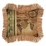 Fine Art Tapestries Arts & Crafts I Cotton Throw Pillow