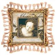 Fine Art Tapestries The Monarch Throw Pillow