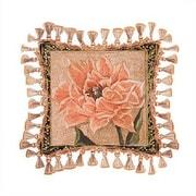 Fine Art Tapestries Tulip Unveiled III Cotton Throw Pillow