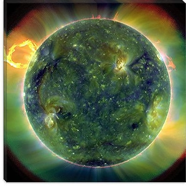 iCanvas Solar Dynamics Observatory Graphic Art on Wrapped Canvas; 37'' H x 37'' W x 0.75'' D