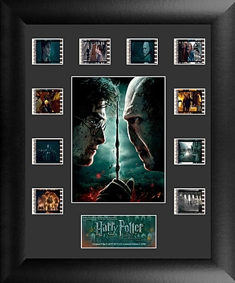 Trend Setters Harry Potter 7 Part 2 Mini Montage FilmCell Presentation Framed Vintage Advertisement