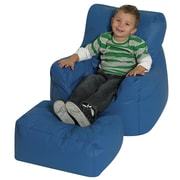Children's Factory Cozy Kids Club Chair and Ottoman