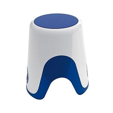 Gedy by Nameeks Wendy Bathroom Stool; White / Blue
