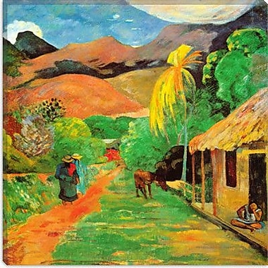 iCanvas 'Chemin a Papeete' by Paul Gauguin Painting Print on Canvas; 18'' H x 18'' W x 1.5'' D