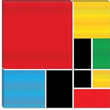 iCanvas Modern Colored Composition Graphic Art on Canvas; 18'' H x 18'' W x 0.75'' D
