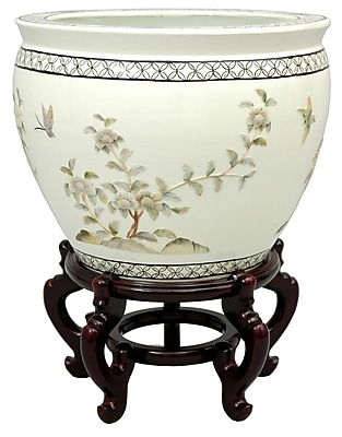 Oriental Furniture Lacquer Vase