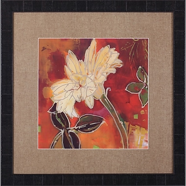 Art Effects Gerber Garden II by Lisa Snow Lady Framed Painting Print