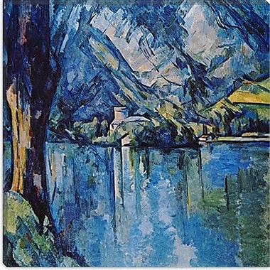 iCanvas ''Le Lac Annecy'' by Paul Cezanne Painting Print on Canvas; 18'' H x 18'' W x 0.75'' D
