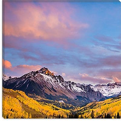 iCanvas ''Fall Valley #2'' by Dan Ballard Photographic Print on Canvas; 18'' H x 18'' W x 0.75'' D