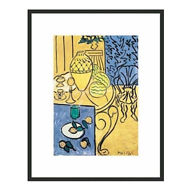 Frames By Mail Matisse Interior by Henri Matisse Framed Painting Print