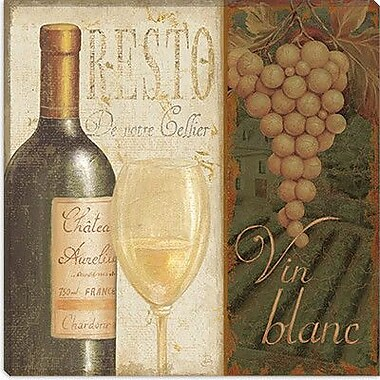 iCanvas ''Wine List'' Canvas Wall Art by Daphne Brissonnet; 12'' H x 12'' W x 1.5'' D