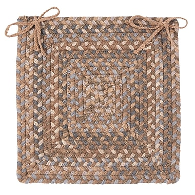 Colonial Mills Gloucester Dining Chair Cushion; Cashew