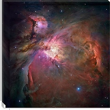 iCanvas Orion Nebula (Hubble Space Telescope) Canvas Wall Art; 37'' H x 37'' W x 1.5'' D
