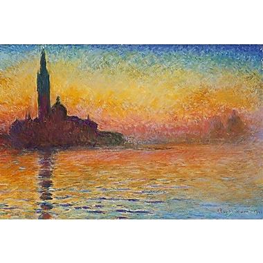 iCanvas ''Saint-Georges Majeur'' Canvas Wall Art by Claude Monet; 18'' H x 26'' W x 0.75'' D