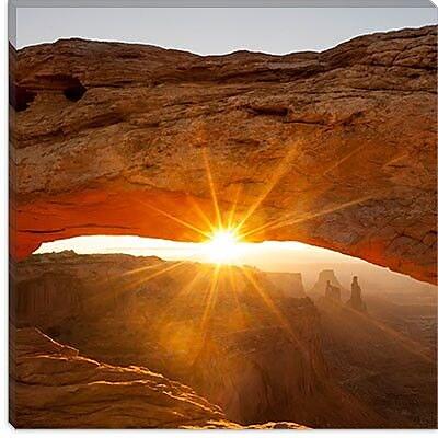iCanvas ''Mesa Arch Beauty #2'' Canvas Wall Art by Dan Ballard; 12'' H x 12'' W x 1.5'' D
