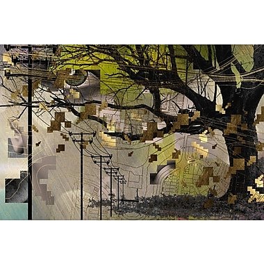 Carlyle Fine Art Abstract Edison by Jordan Carlyle Graphic Art; 54'' x 72''