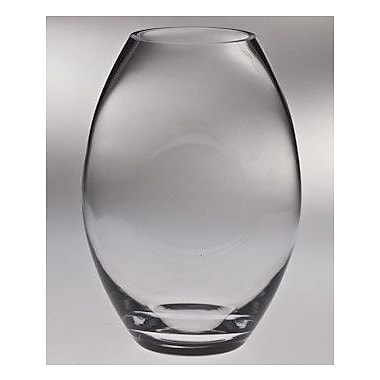 Majestic Crystal Classic Clear Vase; 10'' H x 7.13'' W x 7.13'' D