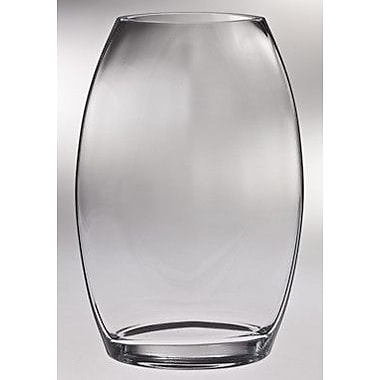 Majestic Crystal Classic Clear Table Vase; 10.13'' H x 6.5'' W x 4'' D