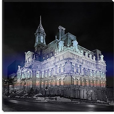 iCanvas Canada Montreal City Hall 4 Photographic Print on Canvas; 26'' H x 26'' W x 0.75'' D