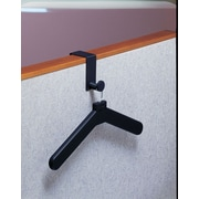 Magnuson Group Over Panel Coat Hook w/ Hanger; Black