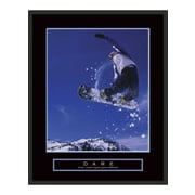 Frames By Mail Motivational Dare Framed Photographic Print