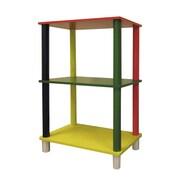ORE Furniture Kid's 3 Tier Rectangle 28.5'' Bookcase