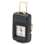 Chass Luggage Alarm Clock; Black