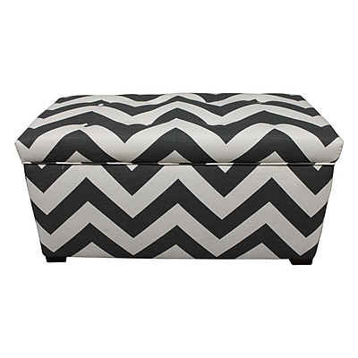 Sole Designs Fabric Storage Bench