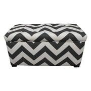 Sole Designs Fabric Storage Bedroom Bench